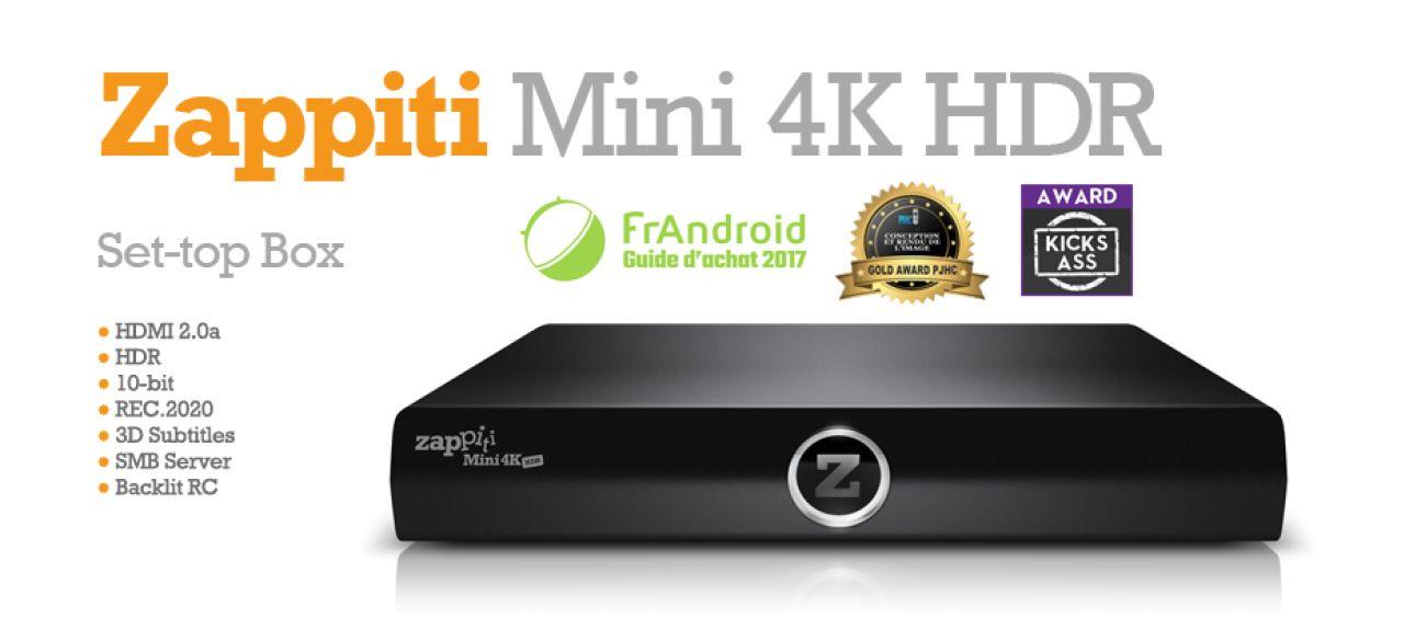 1baf39d3b9 ZAPPITI Mini 4K HDR Multimédia lejátszóAV-LAND * A minőségi ...